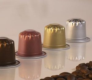 Cápsulas compatibles Nespresso Aluminio